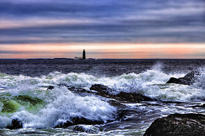 Ram Island Ledge Light Art Print