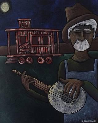 Ramblin' Man Original by Stefanie Silva