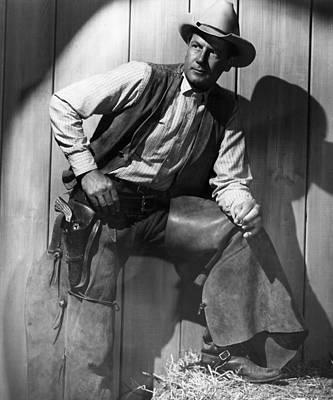 1947 Movies Photograph - Ramrod, Joel Mccrea, 1947 by Everett