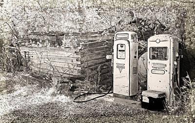 Ranch Gas Pumps Art Print by Lenore Senior and Dawn Senior-Trask