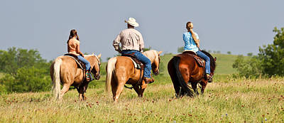 Photograph - Ranch Riders by Elizabeth Hart