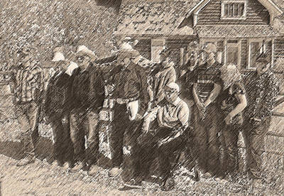 Ranch Stories Through Generations Art Print by Lenore Senior and Dawn Senior-Trask