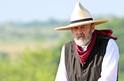 Photograph - Rancher by Elizabeth Hart