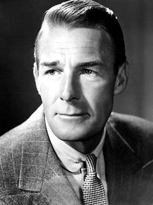 Falcondvd19 Photograph - Randolph Scott, Rko, 1945 by Everett