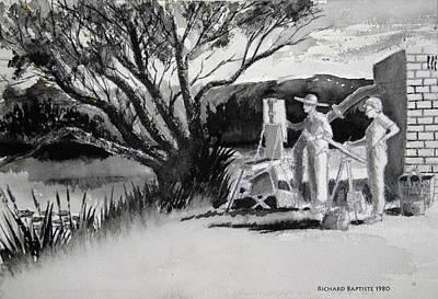 Randwick Art Print by Richard Baptiste