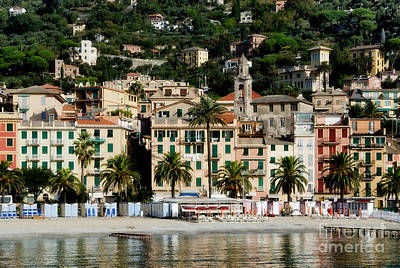 Photograph - Rapallo Italy by Gerda Grice