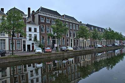 Photograph - Rapenburg Canal  by Steven Richman