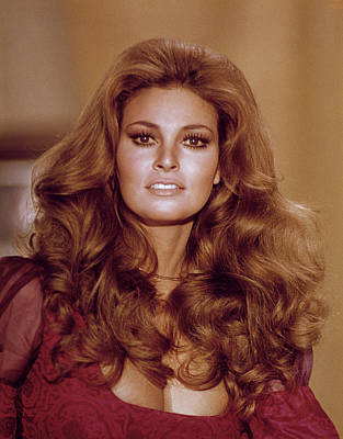 Big Hair Photograph - Raquel Welch, 1970s by Everett