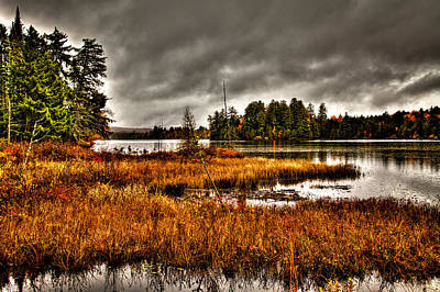 Photograph - Raquette Lake In The Adirondacks by David Patterson