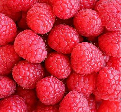 Photograph - Raspberries by Kume Bryant