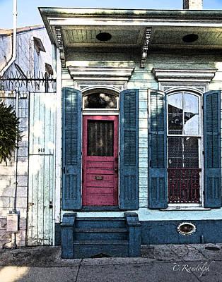 Photograph - Raspberry Cottage by Cheri Randolph
