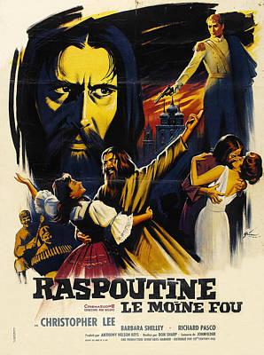 Mad Monk Photograph - Rasputin The Mad Monk, Aka Raspoutine by Everett