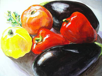 Painting - Ratatouille by Edith Hunsberger