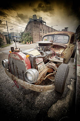 Street Rod Photograph - 'rattus'.... by Russell Styles