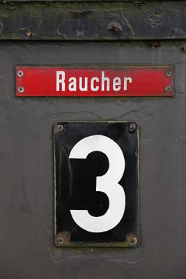 Raucher Art Print by Falko Follert