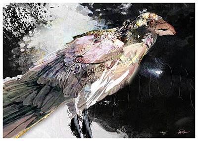 Raven 10 Art Print by James VerDoorn