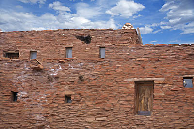 Photograph - Raven Flies From Hopi House by Gregory Scott