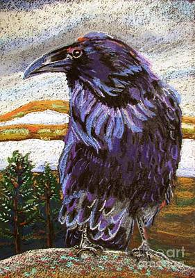 Raven Spirit Art Print by Harriet Peck Taylor