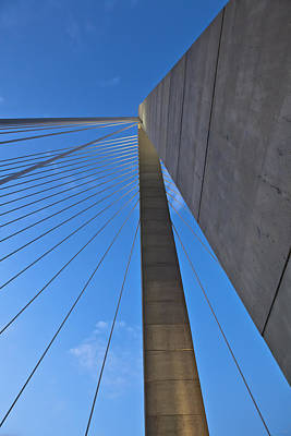 Ravenel Overhead Day - Vertical Art Print