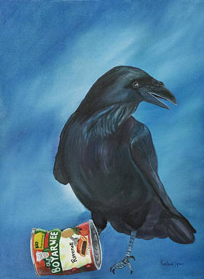 Painting - Ravenoli by Amy Reisland-Speer