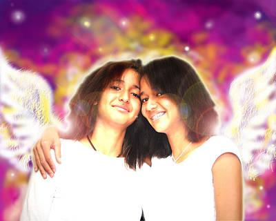 Ravert.angelic 5 Art Print
