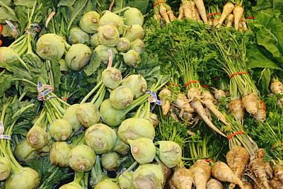 Photograph - Raw Food 7 by Paul SEQUENCE Ferguson             sequence dot net