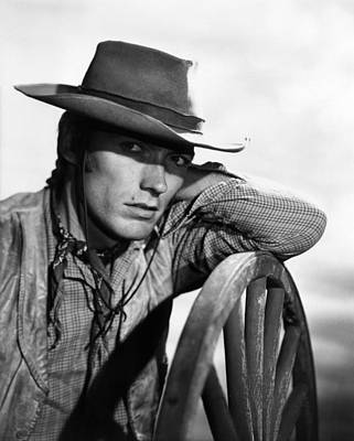 Rawhide, Clint Eastwood, 1959-66 Art Print by Everett