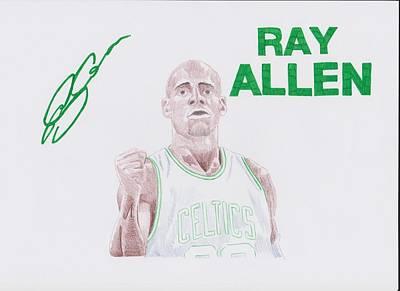 Ray Allen Art Print