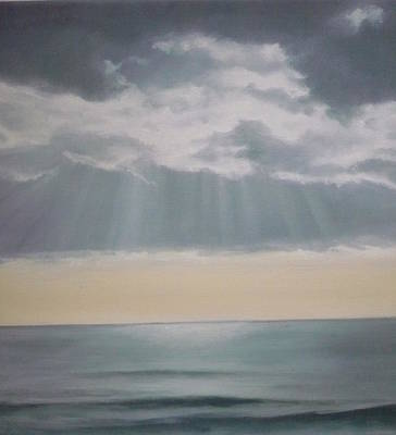 Painting - Rays by Caroline Philp