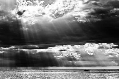 Rays Of Light Art Print by Mike Rivera