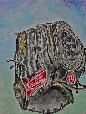 Softball Painting - Rbg 36 B Ken Griffey Jr. by Jame Hayes
