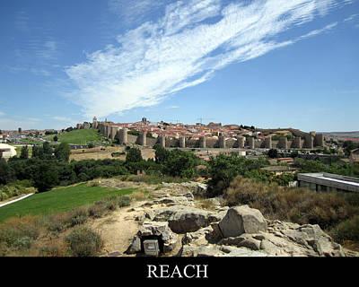 Photograph - Reach  Motivational by John Shiron