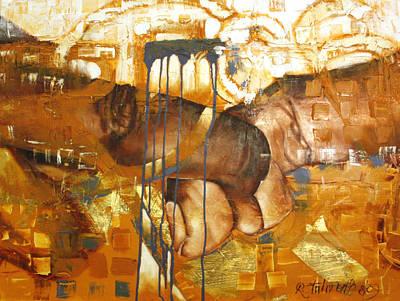 Painting - Reach by Raquel Stallworth