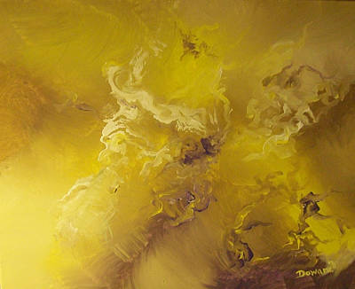 Reaching Above And Beyond Art Print by Raymond Doward