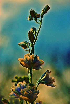 Reaching Blooms Art Print by Bill Tiepelman