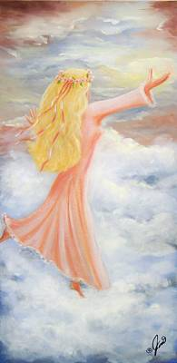 Painting - Reaching For Heaven by Joni McPherson