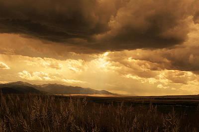 Rain Digital Art - Reaching The Rockies by Jeff Burgess