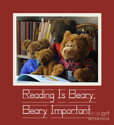 Photograph - Reading Is Important by Nancy Greenland