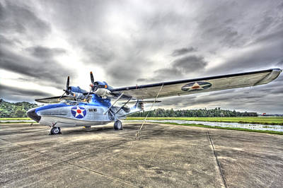 Photograph - Ready And Able Pby Aircraft by Rich Franco
