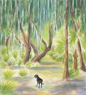 Painting - Ready For A Walk by Jeanne Kay Juhos