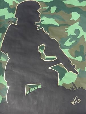 Ready For Battle I Art Print by Jessica Cruz
