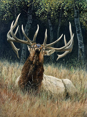 Painting - Ready For Trouble by Peter Eades