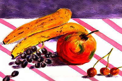 Art Print featuring the painting Ready-to-eat by Paula Ayers