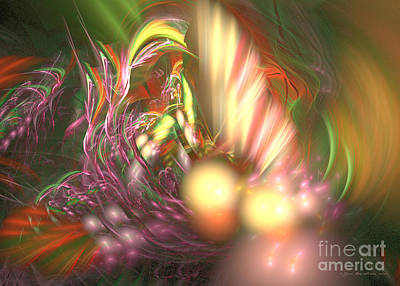 Digital Art - Ready To Pick Up - Fractal Art by Sipo Liimatainen