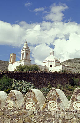 Photograph - Real De Catorce Church Mexico by John  Mitchell