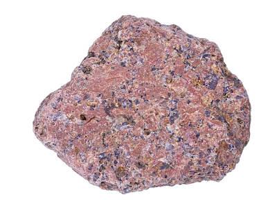 Speckled Granite Photograph - Real Granite Stone Texture by Aleksandr Volkov