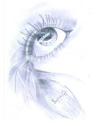 Drawing - Realistic by Poornima M