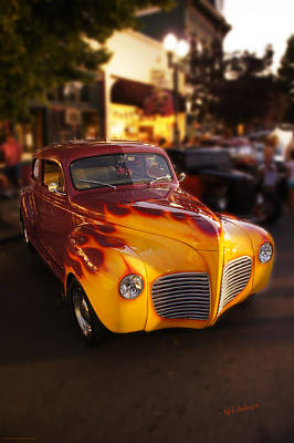 Photograph - Really Hot Rod by Mick Anderson