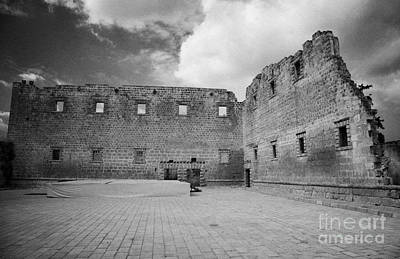 Rear Walls Of The Old Palazzo Del Provedittore Royal Palace Entrance In The Old Town Of Famagusta Art Print by Joe Fox