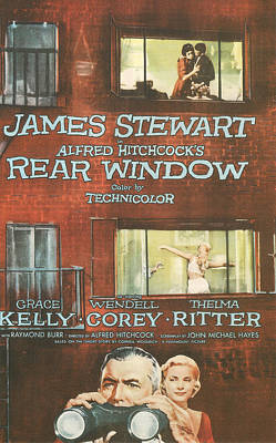 Rear Window Art Print by Georgia Fowler